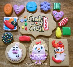 Candy Crush Cookies | by sugarbuff