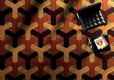 Engineered parquet flooring / in wood / oiled ESPLORARE Quadrolegno