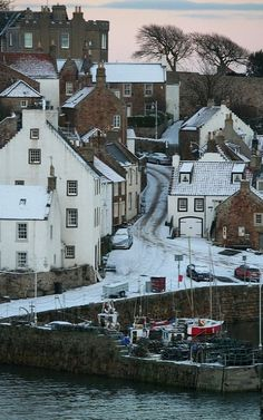 Crail in Winter.. Fife, Scotland | Flickr - Photo by 2edinburgh