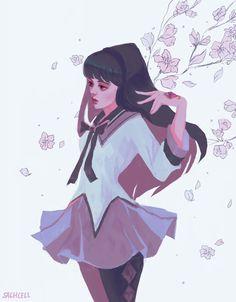 Homura by sachcell.deviantart.com on @DeviantArt