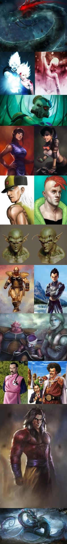 Dragon Ball Z Realistic Art // funny pictures - funny photos - funny images - funny pics - funny quotes - #lol #humor #funnypictures