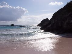 Bermuda...The sand really is pink!!