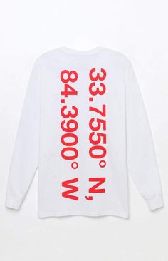 PacSun null Lil Yachty Lil Boat 2 Location Long Sleeve T-Shirt #affiliatelink