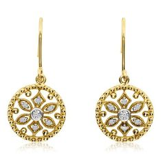 Uniquepedia.com - Ladies Near Colorless Diamond Accented Dangle Earrings w/ Flower Design in 14k Yellow Gold with 0.10, $525.00 (http://www.uniquepedia.com/ladies-near-colorless-diamond-accented-dangle-earrings-w-flower-design-in-14k-yellow-gold-with-0-10/)