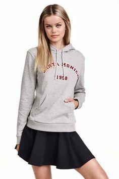 Bluza z kapturem i nadrukiem | H&M