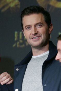 Why do I never pin my favorite British actor on this board??  ~ Richard Armitage at The Hobbit premiere in Tokyo, 1 Dec 2012