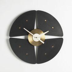 """Paddle"" Model 2246 Wall Clock, Howard Miller Clock Company, 1957"