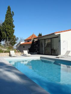 Relais de Chartreuses in Le Boulou a 20 minute drive from the Spanish border. #swimmingpool #france #hotel #travel