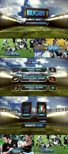 SkySport promo toolkit by Angelsign Studio , via Behance