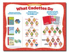 Insignia List: Girl Scout Cadettes