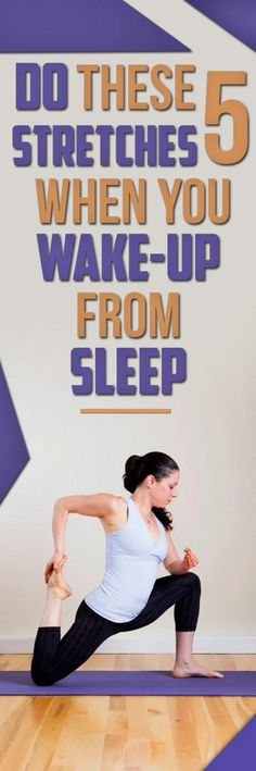 Do These 5 Stretches When You Wake-up From Sleep #Health #Wellness #Fitness #Tips #Food #Motivation #Remedies #Natural #Mental #Holistic #Skin #Woman's #Facts #Care #Lifestyle #Detox #Beauty #Diet #Body #Nutricion #Skincare #NaturalTreatments #HealthyLife