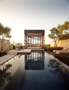 △☆idb #modern #outdoors Alila Villas Uluwatu in Bali by WOHA
