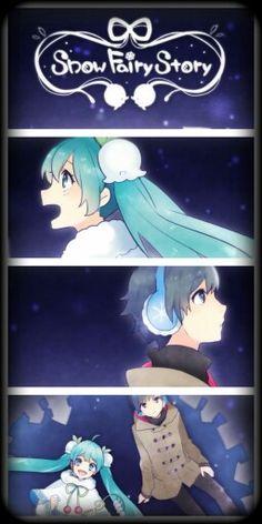Snow Miku and Kaito (Snow Fairy Story) part 1/5