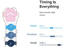"""The Best Times To Post On Social Media?ref=pinp nn From what the SumAll study has gathered, the general rule is to catch people on their downtime to optimize your social media activities. The most ideal times are–early morning (when people are on their way to their workplaces), or during their """"settling in"""" period at work,..."""