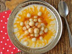 Toros Çorbası Wie Macht Man, Iftar, Cheeseburger Chowder, Oatmeal, Cooking Recipes, Menu, Soup, Vegetables, Breakfast