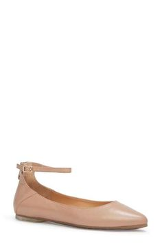 Me Too 'Ashlyn' Ankle Strap Flat (Women)