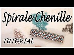 Chenille Bead Spiral Tutorial - How to make a bracelet or necklace with beads - Technical Chenille - YouTube