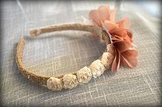 Floral Hairpiece Wedding Hairpiece Girl Headband Flower