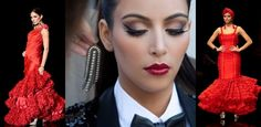 maquillaje flamenco
