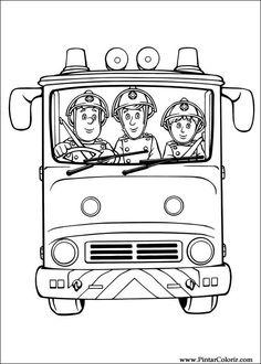 Die 157 Besten Bilder Von Feuerwehrmann Sam Firefighter Young