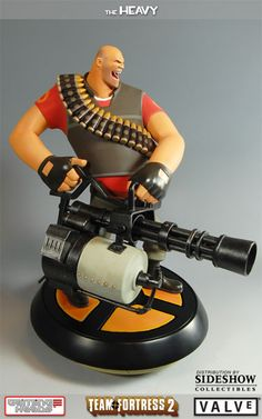 Sideshow Collectibles - The Heavy - Team Fortress 2 Polystone Statue