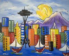 CANVAS! paint & sip studio - Kirkland and Seattle WA