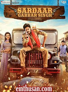 Sardaar Gabbar Singh Telugu Movie Online - Pawan Kalyan, Kajal Aggarwal, Sharad Kelkar and Sanjjanaa. Directed by K. S. Ravindra. Music by Devi Sri Prasad. 2016 [U/A]