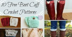 Who doesn't love a good boot cuff? They're a versatile and inexpensive way to add a little something to your wardrobe. Here's a little list of some free crochet patterns to make yourself a pair...or make some for Christmas gifts! 1. I