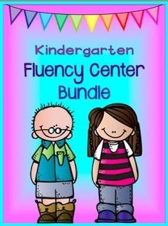 READING LEVEL:  Kindergarten Reading fluency centers - hands on fun and a great way to prepare for the Dibels test.