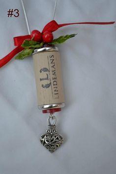 Wine Bottle Cork Ornament