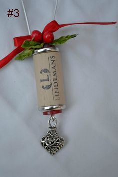 Wine Bottle Cork Ornament