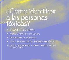 Personas tóxicas Tóxicas