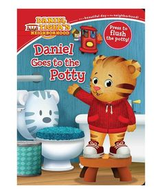 A perfect new potty-training book for Daniel Tiger fans?push the button and hear the potty flush!<BR><BR>Daniel and his dad are at Music Man. Potty Training Books, Toilet Training, Toddler Books, Childrens Books, Best Potty, Daniel Tiger's Neighborhood, Early Reading, Thing 1, Toys