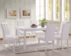 10 Brilliant Ideas Of All-White Dining Rooms | www.bocadolobo.com #moderndiningtables #diningarea #thediningarea #diningareadesign #white #luxury #allwhite #interiordesign #homedecorideas @moderndiningtables