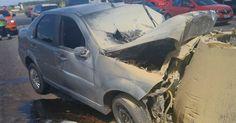 Motorista morre ao bater carro em barreira de proteção de pedágio