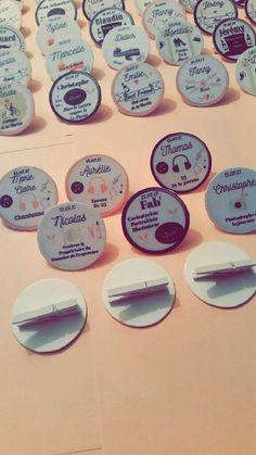 Nos 120 badges diy pour -de 5€ 😍😍😍 - 2