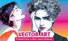 20 Wonderful Vector Art works created by Mel Marcelo. Read full article: http://webneel.com/webneel/blog/mel-marcelos-wonderful-vector-art-i   more http://webneel.com/vector-characters   Follow us www.pinterest.com/webneel