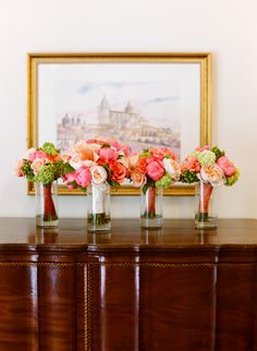 Coral flowers by Cody Floral Design