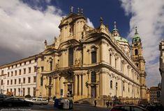 Christoph Dietzenhofer. Iglesia de San Nicolás de Praga. Mala Strana - 1703-1717