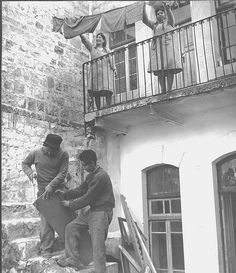 New Immigrants in Haifa after the War of Independence, 1948