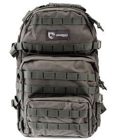 Drago Gear Assault Backpack, Grey ** You can get additional details, click the image : Day backpacks