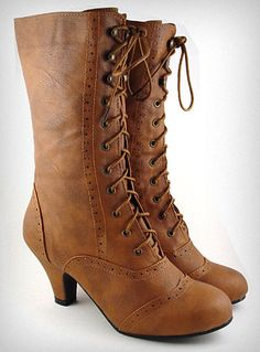 Whiskey Mill Victorian Boots from http://www.shopplasticland.com/