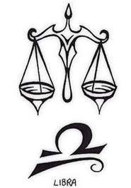 I've always wanted a Libra tattoo.  (bottom design)
