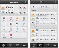 iphone time tracking software