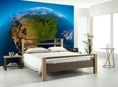 Beautiful Earth Wall Mural - Space Wall Mural | EazyWallz