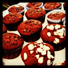 Muffin #cacao #mandorle