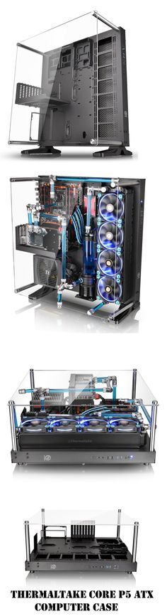 Thermaltake Core P5 make Your Gaming PC Into A Wall-Mounted Display