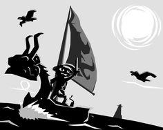 The Legend of Zelda: Wind Waker (Vector FanArt) by romith
