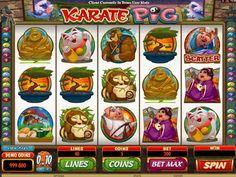 Prüfe unsere Neusten kostenlos Automaten Spiel Karate Pig - http://freeslots77.com/de/karate-pig/