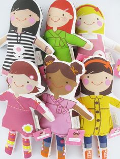 The CUTEST DOLLS EVER!! I have to have one for Mags.